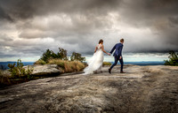 Cliffs at Glassy Mountian Wedding