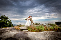 Wedding Photography, Cliffs at Glassy