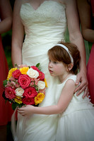 Wedding, Flower Girl, Clemson Botanical Garden