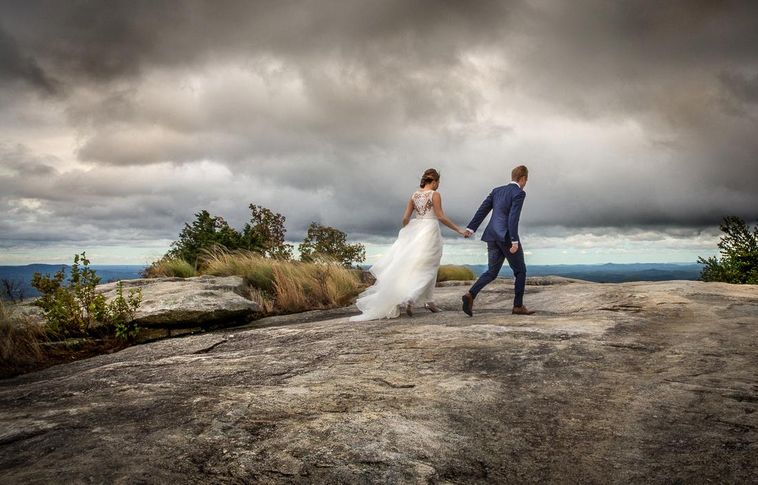 Cliffs at Glassy, Wedding Photography