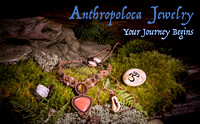 Anthropoloca Jewelry Advertisment, Product Photography